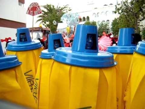 Disfraz de fregona para Carnaval 2014