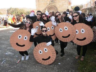 Disfraz de galleta para Carnaval 2014