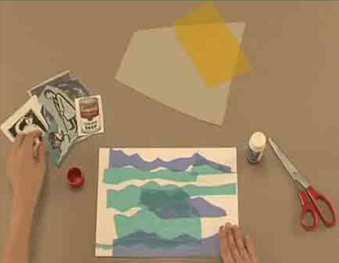 como hacer un collage